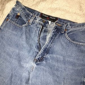 High waisted Guess jeans